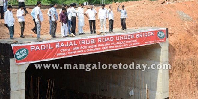 Technical glitch hinders Padil-Bajal under bridge works; elected reps visit project area