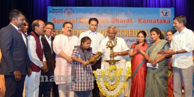 MLA J R Lobo Felicitates Special Olympics Bharat-Karnataka for National Accreditation