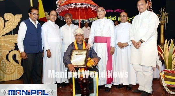 Pingara Rajyotsava Award 2014 conferred to Manasa Rehabilitation Centre