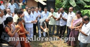 MLA Lobo performs Guddali Puja for Development of Bairady Pond
